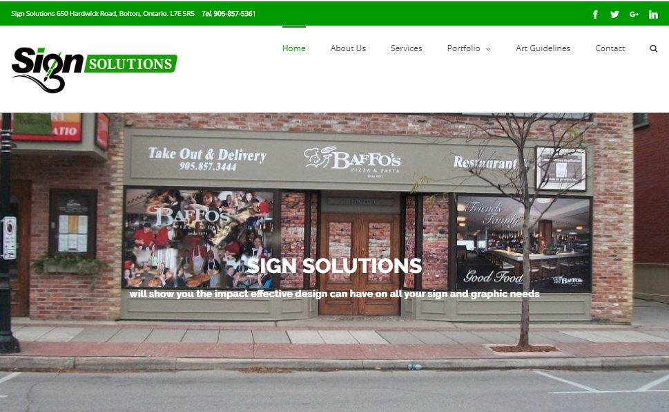 sign solutions web